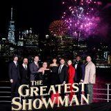 """Die Weltpremiere des Film """"The Greatest Showman"""" mit Hugh Jackman in der Hauptrolle wurde an Bord des Cunard Flagschiffs, der Queen Mary 2, mächtig gefeiert."""