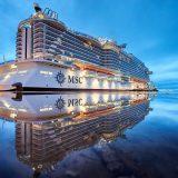 Die MSC Seaside wird heute Nacht deutscher Zeit in Miami feierlich getauft. Im Livestream (s.u.) können deutsche Kreuzfahrtfans die Taufe verfolgen.