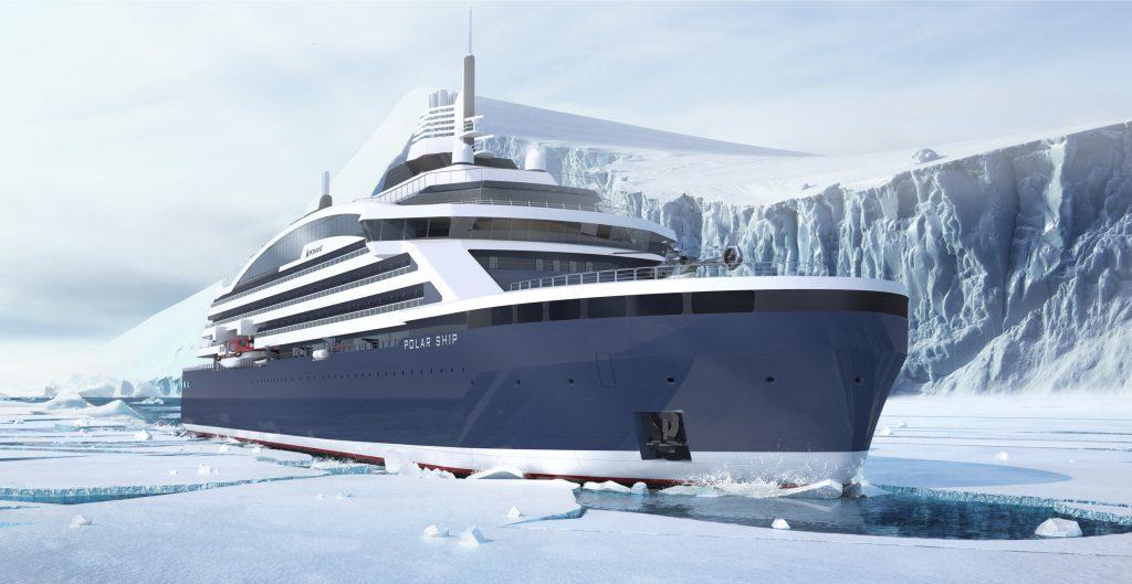 Die französische Reederei Ponant hat einen Vertrag über 270 Millionen Euro für ein neues Schiff mit der norwegischen Werft Vard unterzeichnet. Die Tochtergesellschaft der italienischen Werftgruppe Fincantieri wird für Ponant eine speziell für die Polarzonen ausgerüstete Luxuskreuzfahrt-Yacht bauen. Das Besondere: dabei handelt es sich um einen Eisbrecher mit Hybrid-Antrieb. Die LNG-Eisbrecheryacht soll im Sommer 2021 ausgeliefert werden.