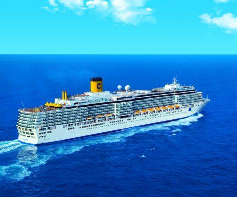 Heute startet die Costa Luminosa ihre 106-tägige Weltumrundung ab Venedig. Bis zum 22. April wird das Schiff fast vier Monate die Ozeane bereisen und seine rund 2000 Gäste zu den schönsten Destinationen der Erde führen.