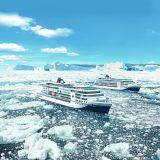 Ab heute können Reisen der beiden neuen Hapag-Lloyd-Schiffe Hanseatic Nature und Hanseatic Inspiration gebucht werden. Dabei handelt es sich um Kreuzfahrten zwischen April 2019 und September 2020.