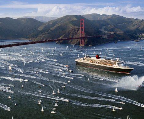 Auch San Francisco kann man auf Weltentdeckerreisen erleben und einmal unter der Golden Gate Bridge durchfahren
