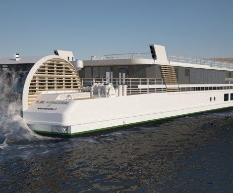 Der Schaufelraddampfer Elbe Princesse II wird auf der Strecke Berlin-Prag fahren