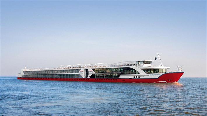 Barbara Schöneberger wird die Nicko Vision taufen. Nach der Taufreise von Frankfurt nach Passau wird der 5-Sterne-Flusskreuzer für den Stuttgarter Kreuzfahrt-Spezialisten auf der Donau im Einsatz sein.