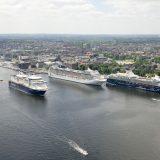 In diesem Jahr werden im Kieler Hafen mehr als 2,1 Millionen Reisende erwartet, davon erstmals 600.000 Kreuzfahrtpassagiere (Plus 17 %) und mehr als 1,5 Millionen Fährgäste. Jedes Jahr generieren Kreuzfahrtpassagiere bereits Umsätze in Höhe von gut 50 Millionen Euro allein in Kiel.
