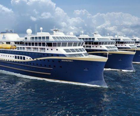 Die vier neuen Schiffe von Havila