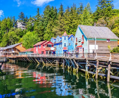Ketchikan, Creek Street,