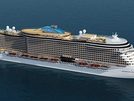 Von 2022 bis 2025 sollen die ersten beiden von vier neuen Leonardo-Klasse-Schiffen für jeweils 3.000 Passagiere zur Flotte stoßen. Die neuen Schiffe liegen damit größenmäßig zwischen den bereits bestehenden NCL-Schiffen mit entweder um 2.000 oder bis zu 4.000 Gästen.