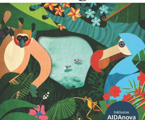Das neue AIDA-Magazin ist da und kann kostenlos bestellt werden. Darin sind spannende Reportagen über die Tierwelt von Madagaskar oder Wandertouren auf Mauritius wecken genauso die Urlaubssehnsucht wie die Reisetipps für Südostasien und der Bericht über die Falkenflüsterin von Abu Dhabi.