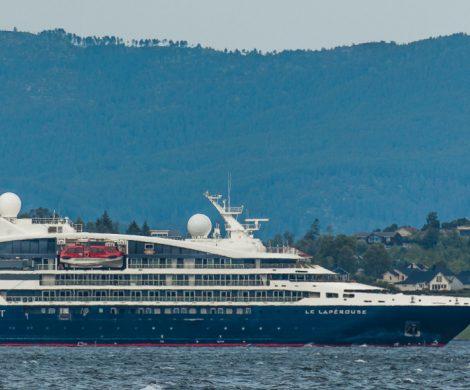 Die Le Lapérouse, das erste Schiff der neuen Ponant-Explorers-Serie