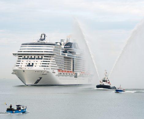 MSC Kreuzfahrten erhöht die Anzahl der Neubauten bis 2026 auf dreizehn Schiffe, bis 2026 wächst die Flotte auf dann 25 Kreuzfahrtschiffe.
