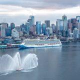 Die Taufe der Norwegian Bliss fand in ihrem Heimathafen Seattle statt. Von dort bricht das Schiff zu siebentägigen Alaska-Kreuzfahrten auf. Bei der Einfahrt in den Hafen wurde die Norwegian Bliss von der Feuerwehr von Seattle mit Wasserfontänen begrüßt.