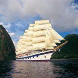 """Der Reiseveranstalter Dertour hat den Großsegler """"Star Clipper"""" gechartert und bietet eine exklusive Segel-Kreuzfahrt von Singapur bis Phuket an."""