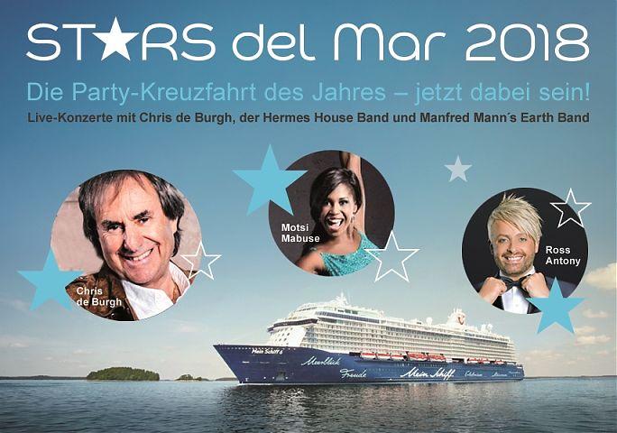 Aufgrund der hohen Nachfrage soll die Themenkreuzfahrt Stars del Mar jetzt jedes Jahr veranstaltet werden. Denn auch die zweite Stars del Mar ist ausgebucht