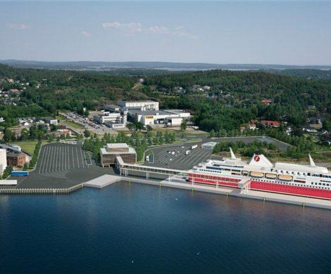 Fjord Line wird die Linie Strömstad–Sandefjord weiter ausbauen und dafür in Sandefjord in einer Bucht des Oslofjords einen eigenen Fährhafen bauen