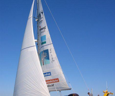 Mehrere Nachwuchswissenschaftler werden in den nächsten Wochen auf dem Forschungsschiff Aldebaran die Nord- und Ostsee erkunden.