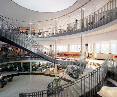 Lichtdurchflutetes Atrium ist das Top-Highlight der neuen Iona