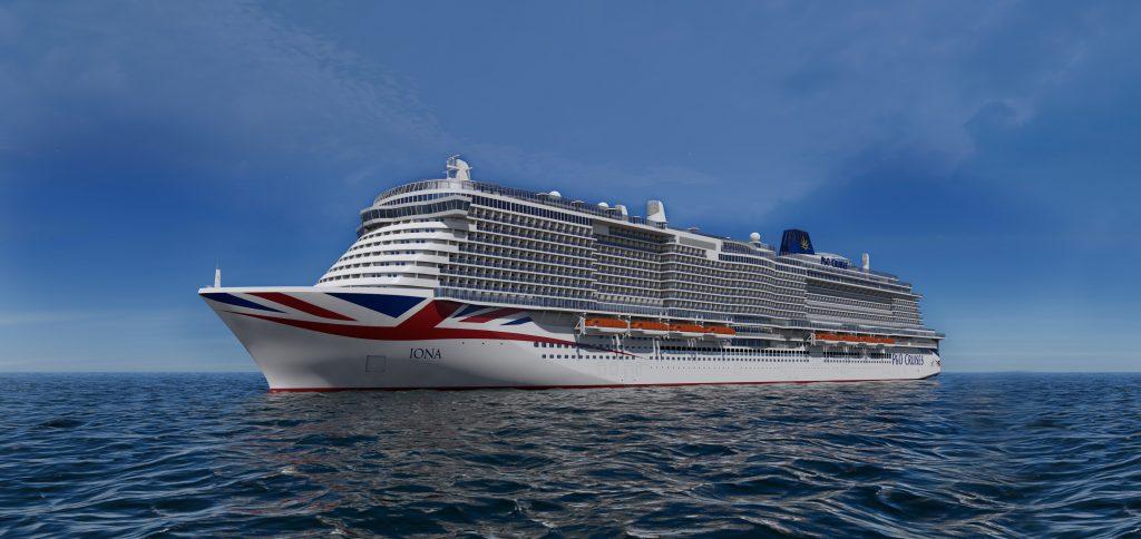 Auf dem künftigen Flaggschiff Iona (Indienststellung 2020) der britischen Reederei P&O Cruises haben bis zu 5.200 Passagieren Platz.