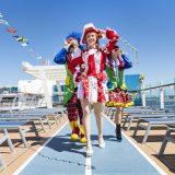 Vom 28. April bis 2. Mai 2019 verwandelt TUI Cruises die Mein Schiff 6 erstmals in eine schwimmende Karnevalshochburg. Auf einer viertägigen Kreuzfahrt erobern Prinzessinnen, Matrosen und Piraten das Mittelmeer und feiern auf 15 Decks eine Kostümparty der Superlative.