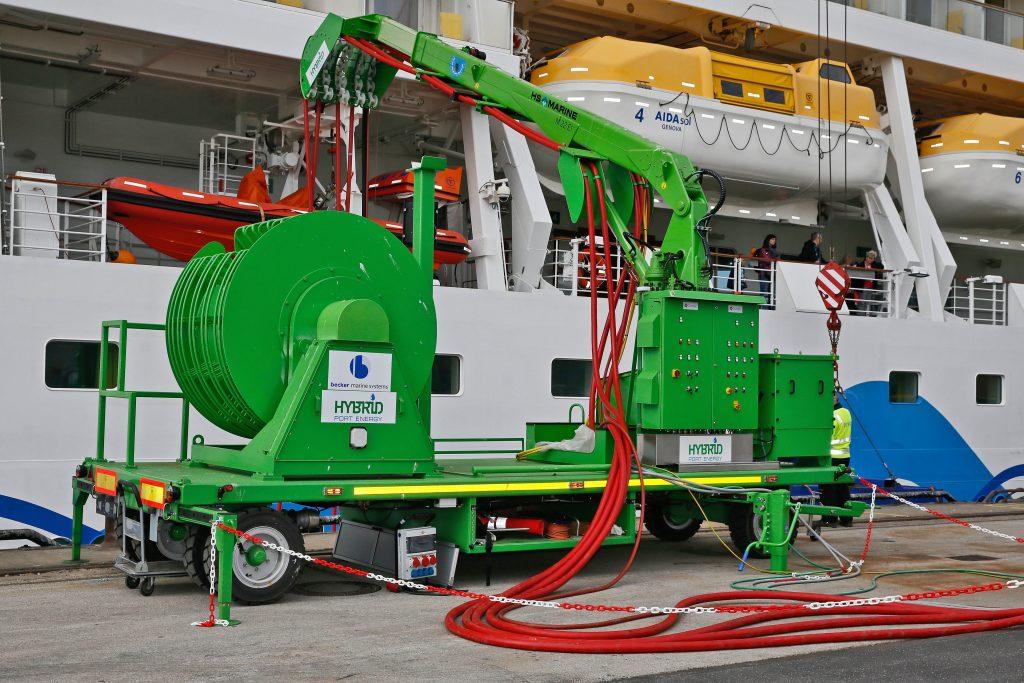 AIDA gibt Gas beim Landstrom: Neun von zwölf Schiffen der AIDA Flotte verfügen bereits heute über einen Landstromanschluss bzw. sind dafür vorbereitet.
