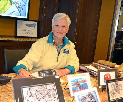 Suzanne Stohl, die Kunstlehrerin auf der Riviera