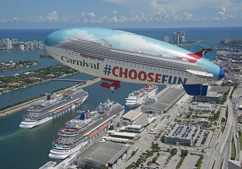 Die Carnival Horizon, neues Flaggschiff von Carnival mit bis zu 3.974 Passagieren, wurde im künftigen Heimathafen Port Miami groß empfangen