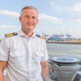 An Bord der MS Bremen, dem Expeditionsschiff von Hapag-Lloyd Cruises, wird im nächsten Jahr Ulf Sodemann das Kommando als Kapitän übernehmen.