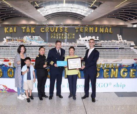 Das Kai Tak Cruise Terminal in Hongkong hat den zweimillionsten Kreuzfahrtpassagier abgefertigt, das Wachstumist auf den chinesischen Markt zurückzuführen.