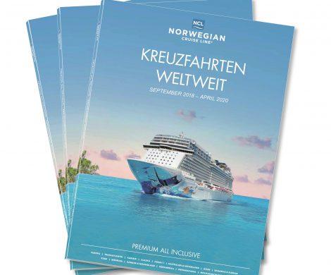Mehr Europa gab es noch nie bei Norwegian Cruise Line: NCL präsentiert seinen neuen Katalog mit Abfahrten bis einschließlich April 2020. I