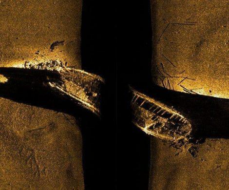 Das Wrack der Erebus wurde 2014 entdeckt