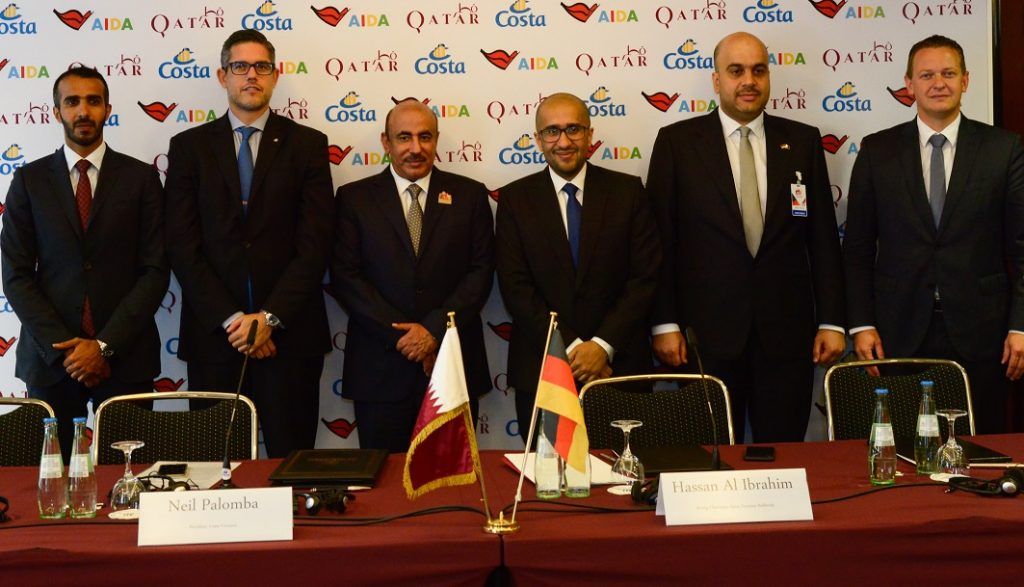 Katar will im Vorfeld der Fußball-WM den Kreuzfahrttourismus ausbauen und hat sich mit AIDA und Costa zwei Reedereien als Partner ausgesucht.