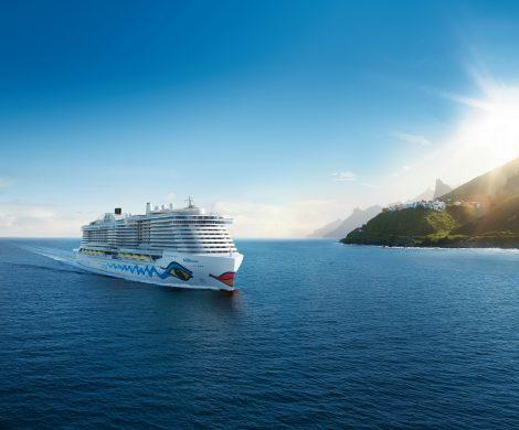 Die neue AIDAnova wurde als weltweit erstes Kreuzfahrtschiff mit Flüssigerdgas (LNG) betankt, mit einer LNG-Tankfüllung kann AIDAnova zwei Wochen fahren.