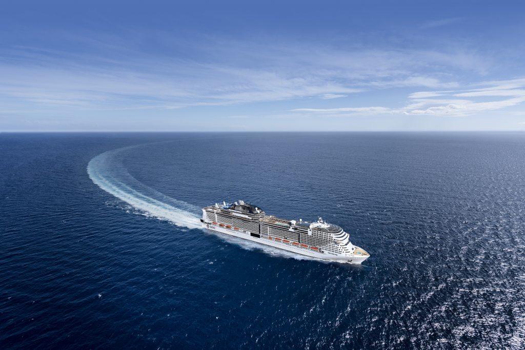 Die MSC Grandiosa feiert im nächsten Jahr Premiere in Hamburg und wird am 9. November 2019 feierlich im Hamburger Hafen getauft