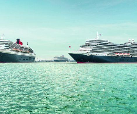 Die britische Traditionsreederei Cunard bietet in ihrem neuen Reise-Highlights Katalog 2020 rund 110 Destinationen in 34 Ländern