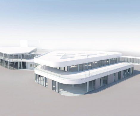 Am Ostseekai startet der Hochbau für ein zweites Terminal-Gebäude für Kreuzfahrtpassagiere. In den Bau investiert der Kieler Seehafen gut 9 Mio. Euro.