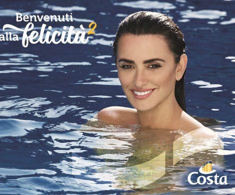 Die spanische Schauspielerin Penélope Cruz macht Werbung für die italienische Reederei Costa Crociere und tritt im Spot als schöne Meerjungfrau auf.