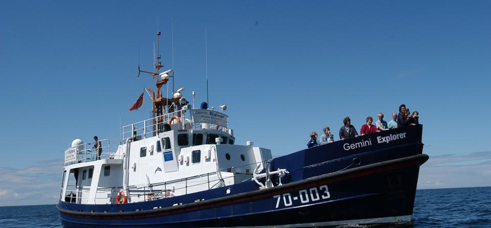 Dertour: Erstmals werden in Deutschland neuntägige Reisen auf die Hebriden mit dem ehemaligen SeenotrettungskreuzerM/S Gemini Explorer angeboten.