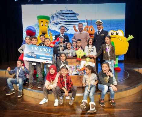 Heute um 18 Uhr startet der 23. RTL Spendenmarathon. AIDA Cruises beteiligt sich mit einer Spende von 100.000 Euro an der Initiative.