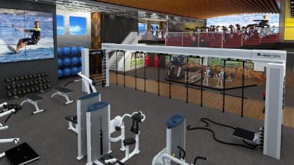 Die neue US-Reederei Blue World Voyages will zur Fitness-Linie auf dem Wasser werden, mit vielen Sportangeboten bis hin zu einem High-Tech-Fitness-Center.