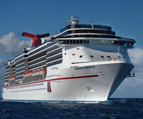 Erstmals in der Firmengeschichte wird Carnival Cruise Line ab März 2020 Kreuzfahrten von San Francisco aus anbieten, mit der Carnival Miracle