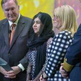 Die jüngste Nobelpreisträgerin der Welt, Malala Yousafzai, hat im Hafen Port Everglades in Fort Lauderdale, USA, die Celebrity Edge getauft.