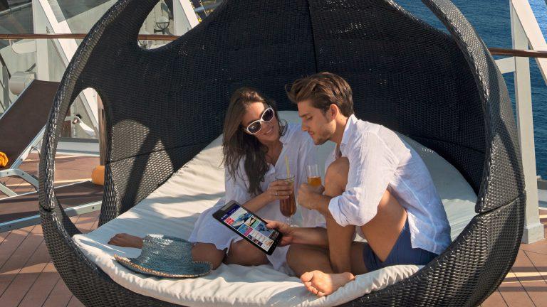 Für Gäste der französischen Reederei Ponant gibt es jetzt kostenloses Internet, so das man während der Kreuzfahrt gratis surfen kann: