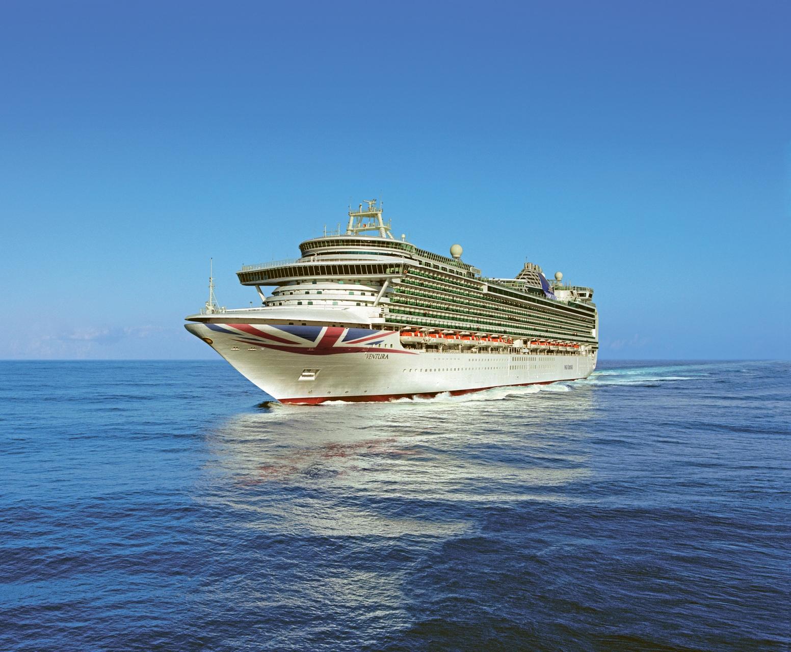 Nur 1 Pfund Sterling (ca. 1,13 €) berechnet P&O Cruises auf ausgewählten Hochseereisen für die Unterbringung einer 3. oder 4. Person in derselben Kabine.