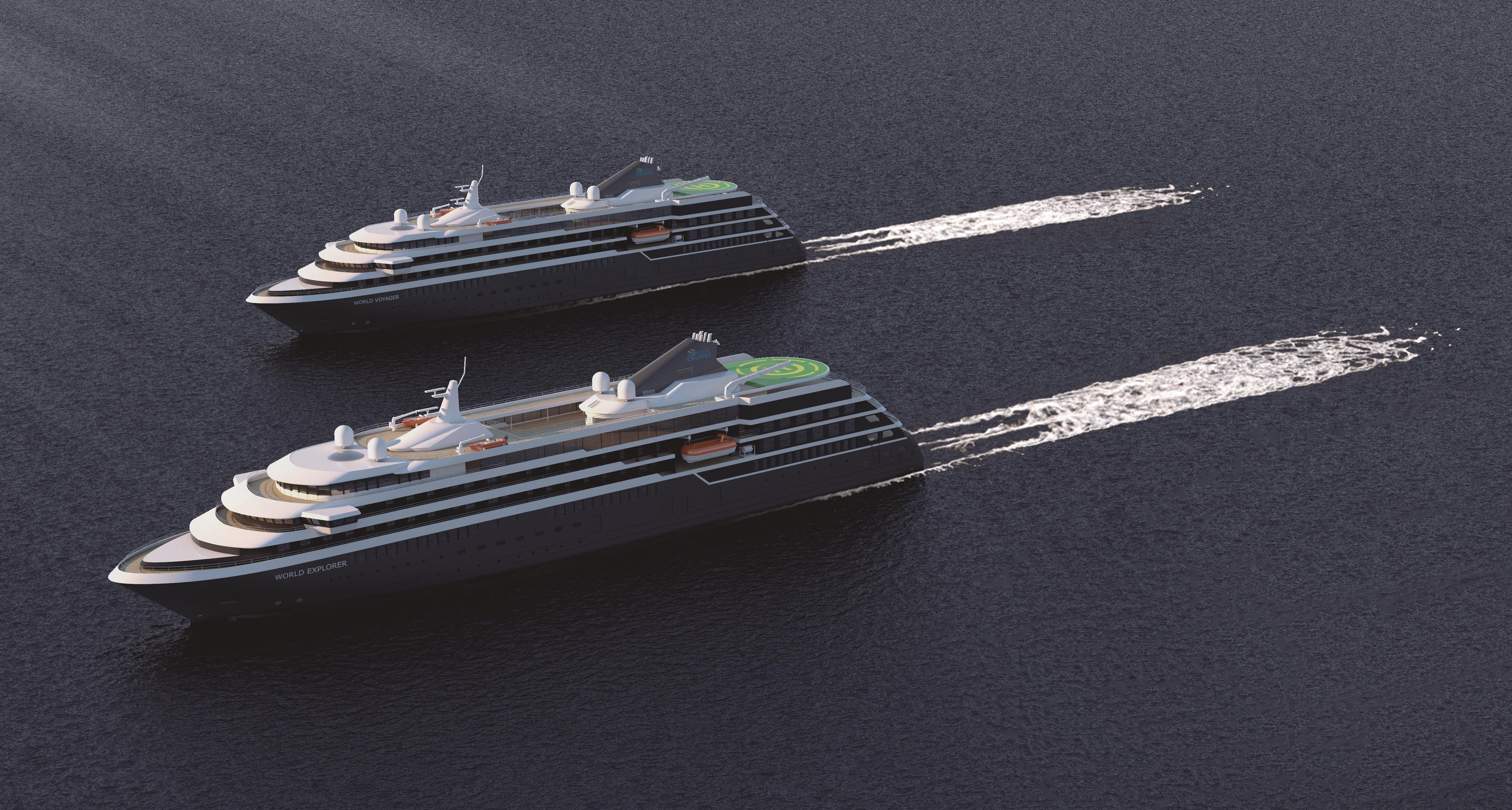Der Stuttgarter Veranstalter nicko cruises bekommt ein zweites Hochseeschiff: Ab der Saison 2020 wird die World Voyager im Einsatz sein.