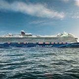 Im Seehafen Kiel ist die Kreuzfahrtsaison erstmals im Januar gestartet worden. Als erstes Kreuzfahrtschiff legte die neue Mein Schiff 2 am Ostseekai an.
