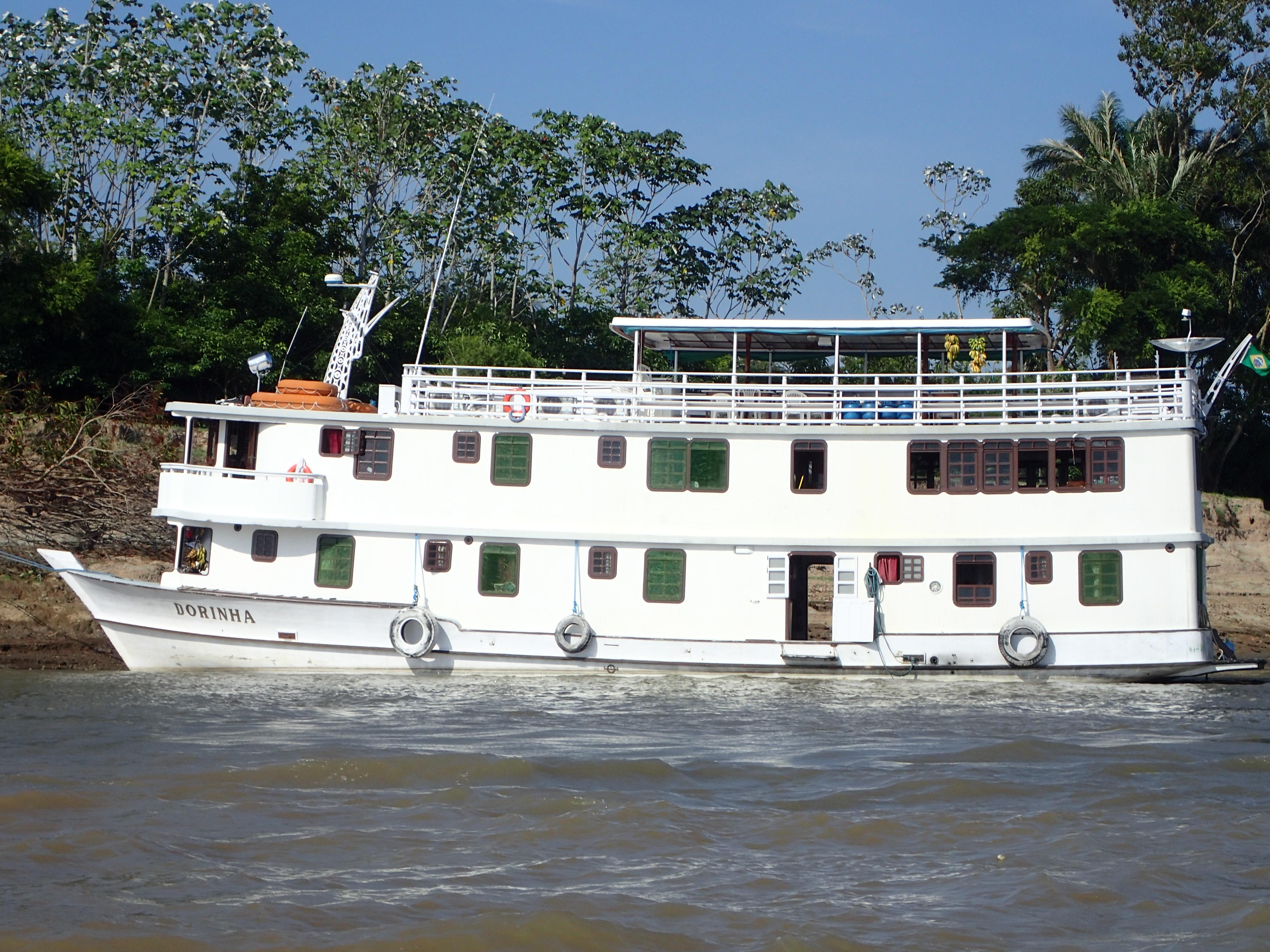 Reportage über eine Flusskreuzfahrt auf dem Amzonas und dem Rio Negro mit der MS Dorinha, Vollcharter des Spezialveranstalters Polaris Tours