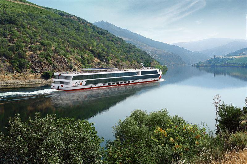 A-rosa will ein neuartiges Mehrgenerationen-Schiff bauen, mit größeren Kabinen, Entertainment-Zonen und Restaurants und einem großen Pool