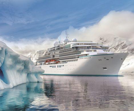 Erstmals bietet Crystal Cruises seinen Gästen auf der Luxus-Expeditionsyacht Crystal Endeavor eine Kreuzfahrt durch die Nordostpassage.