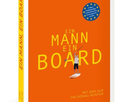 """Rezension Buch """"Ein Mann, ein Board - mit dem SUP die Donau runter"""" von Timm Kruse aus dem DeliusKlasing Verlag, tolles Geschenk für Outdoor-Abenteuerer"""