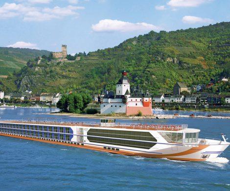 Veranstalter 1A-Vista baut ein neues First-Class Schiff, ab 2020 soll die die 110 Meter lange MS VistaSky auf dem Rhein und der Donau kreuzen.